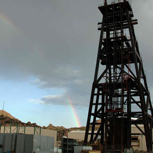 Rainbow Over Headframe