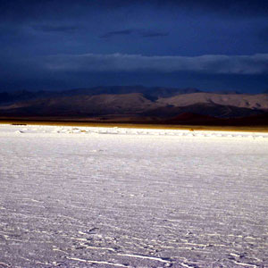Salar at Sunset